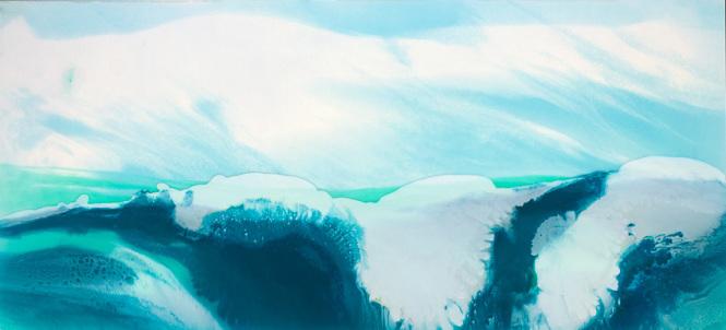 Julia Godfree |Churning wave