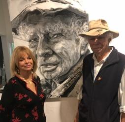 Laura Smith and Herb Wharton